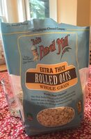 Extra thick rolled oats whole grain - Product - en