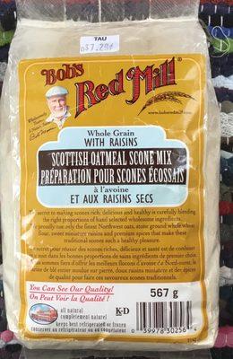 Préparation pour Scones Écossais à l'avoine et aux raisins - Product