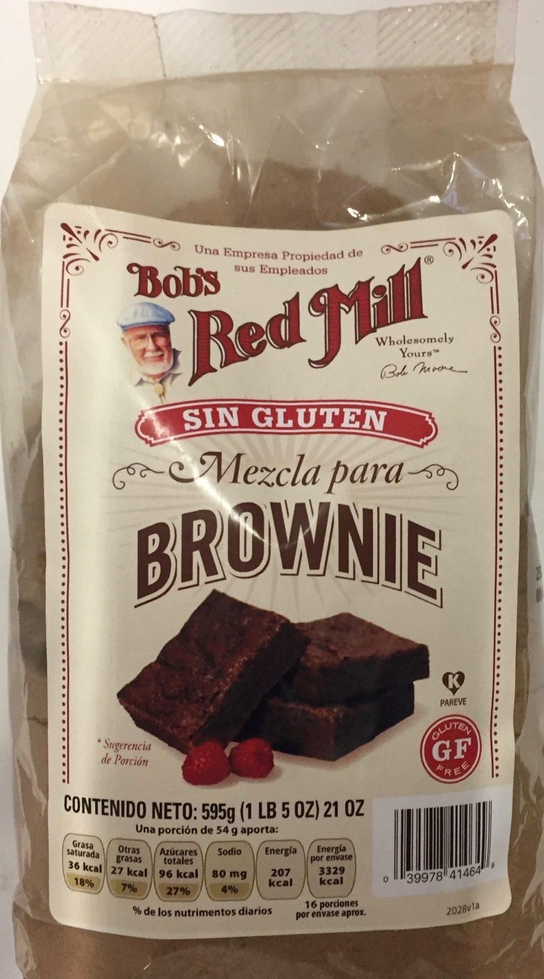 Mezcla para brownie Red Mill - Product - es