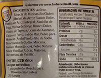 Mezcla para brownie Red Mill - Nutrition facts - es
