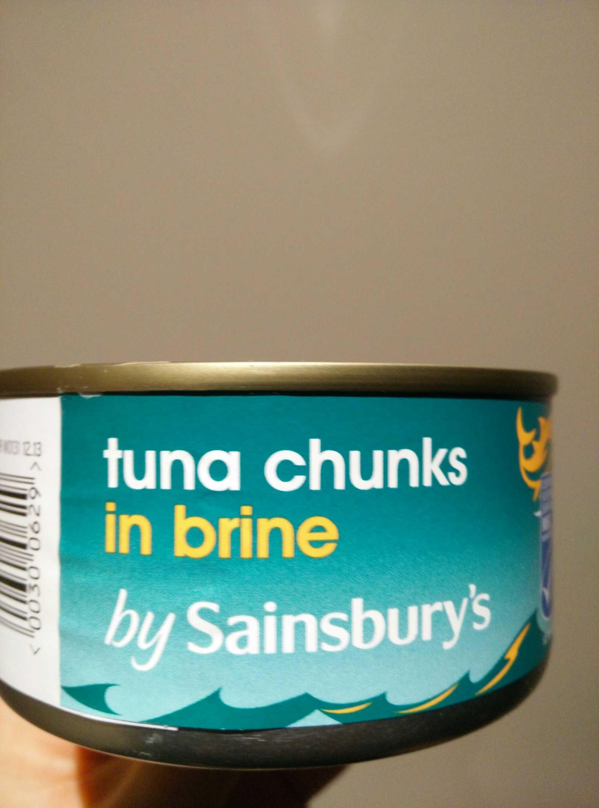 tuna chunks in brine - Product