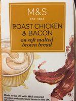 Sandwich roast chiken & bacon - Product