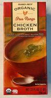 Trader Joe's Organic Free Range Chicken Broth - Product