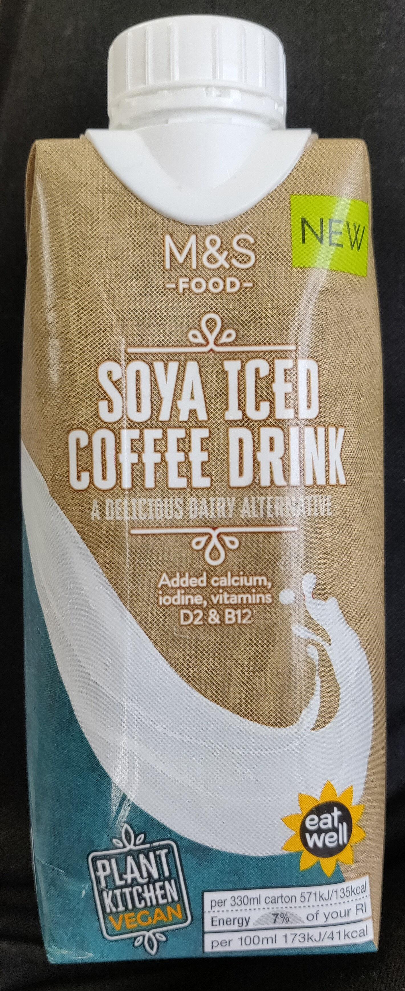 Soya iced coffee drink - Produit - en
