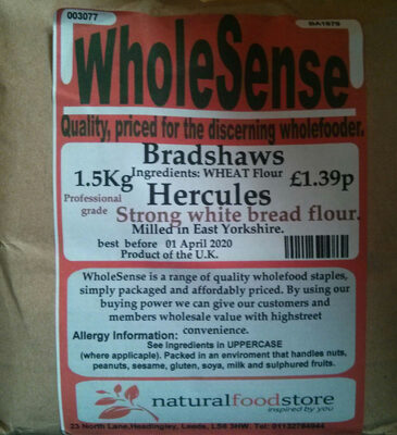 Hercules Strong white bread flour - Product