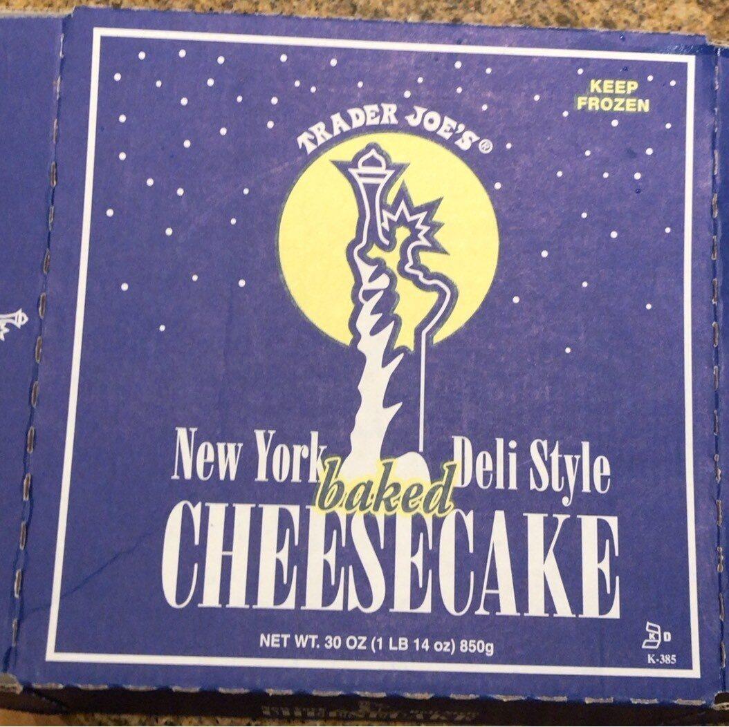 New York Deli Style Cheesecake - Product - en