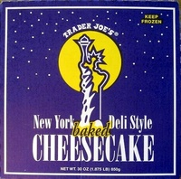 New York Deli Style baked Cheesecake - Product - en