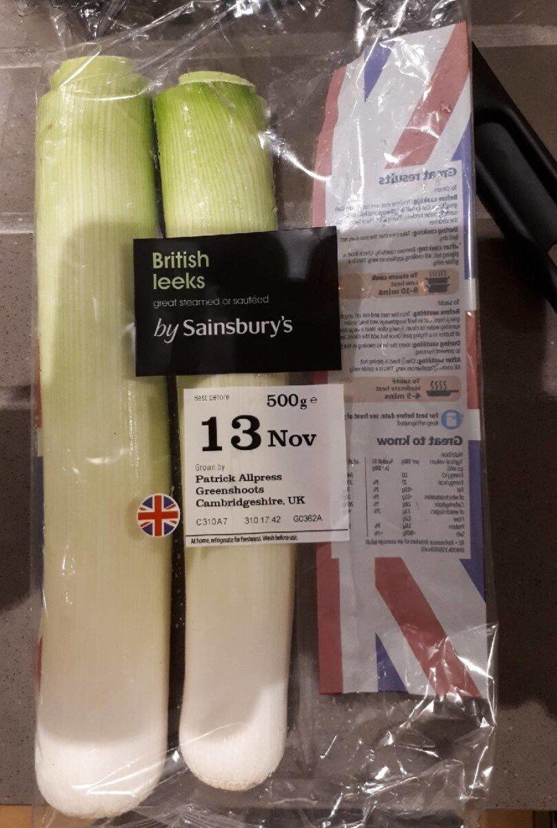 British Leeks - Product