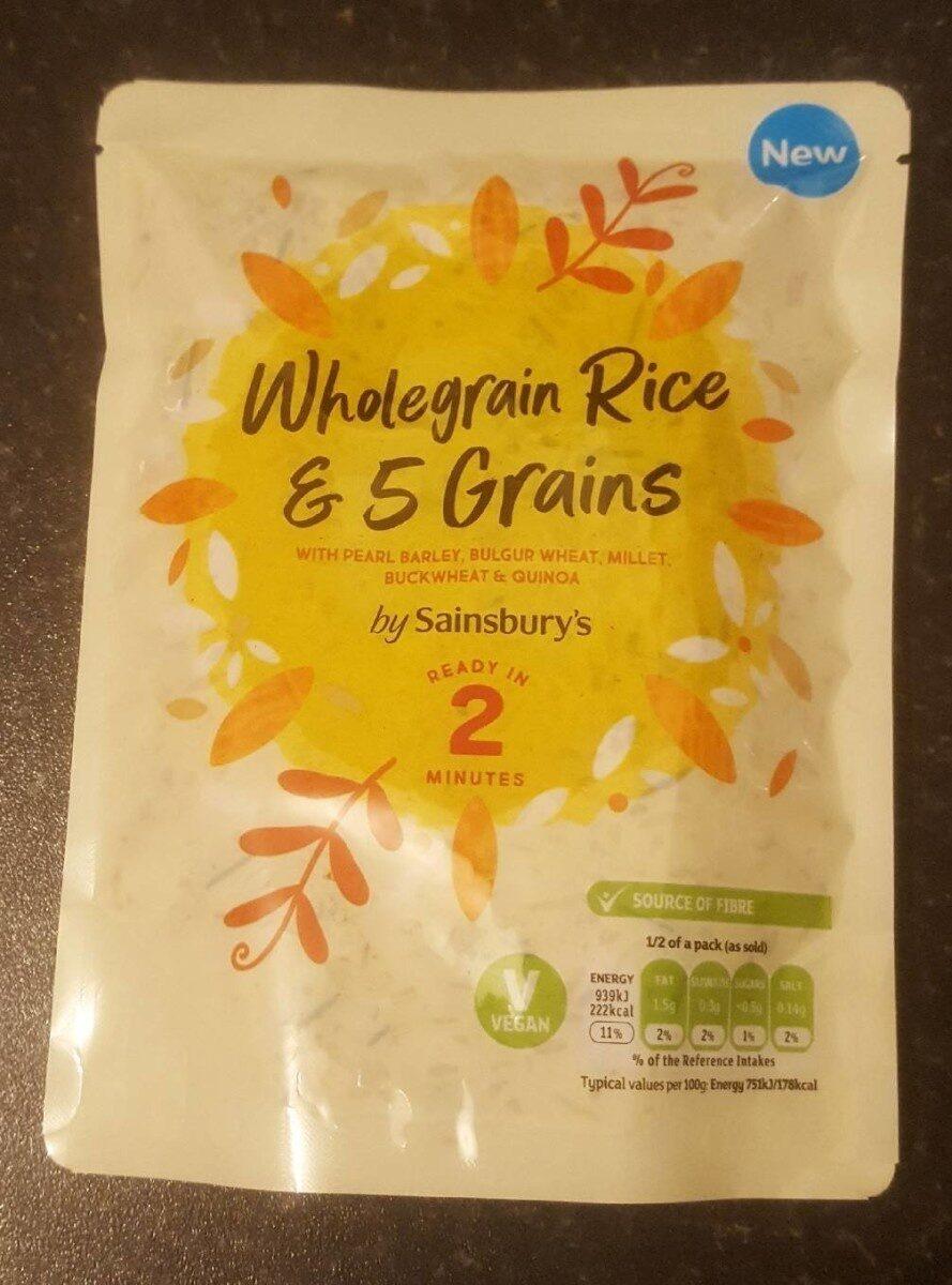 Wholegrain Rice & 5 Grains - Produit