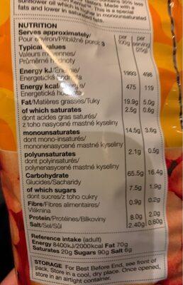 Reduced Fat Cheese Tasters - Voedigswaarden