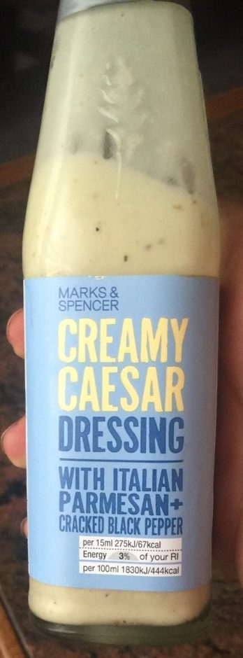 Creamy Caesar Dressing - Product