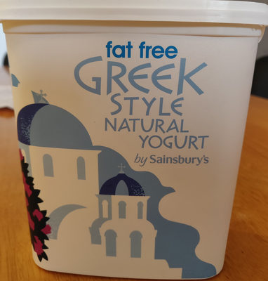Fat free greek style yogurt - Produit - en