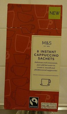 8 instant cappuccino sachets - Product - fr