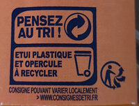 super poulain - Recycling instructions and/or packaging information - fr