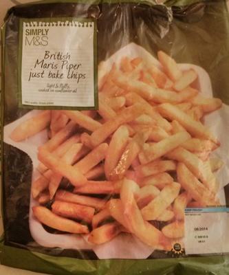 British Maris Piper Just Bake Chips - Produit - fr