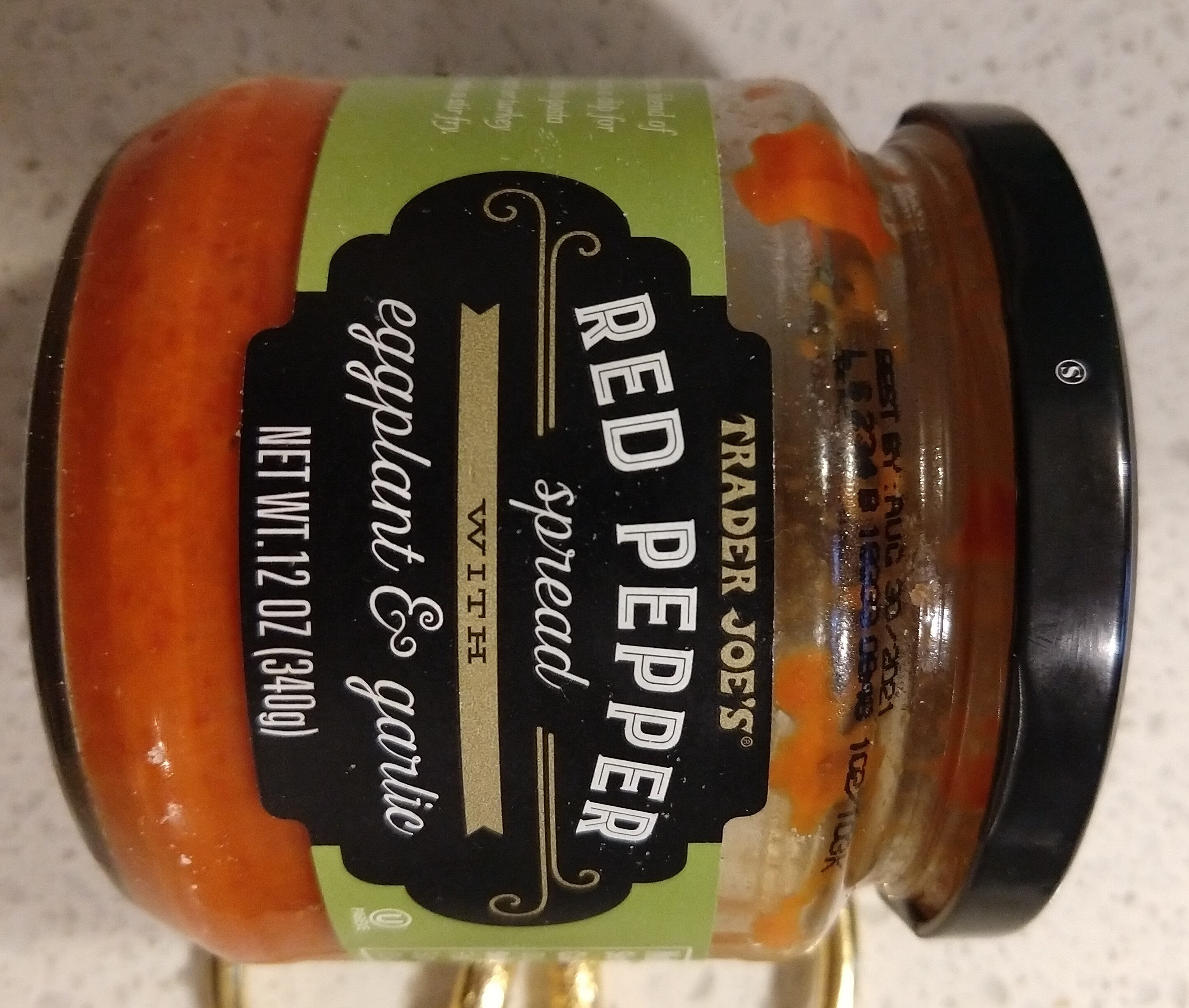 Red Pepper Spread With Eggplant & Garlic - Product - en