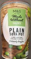 Plain soya pot - Produit - fr