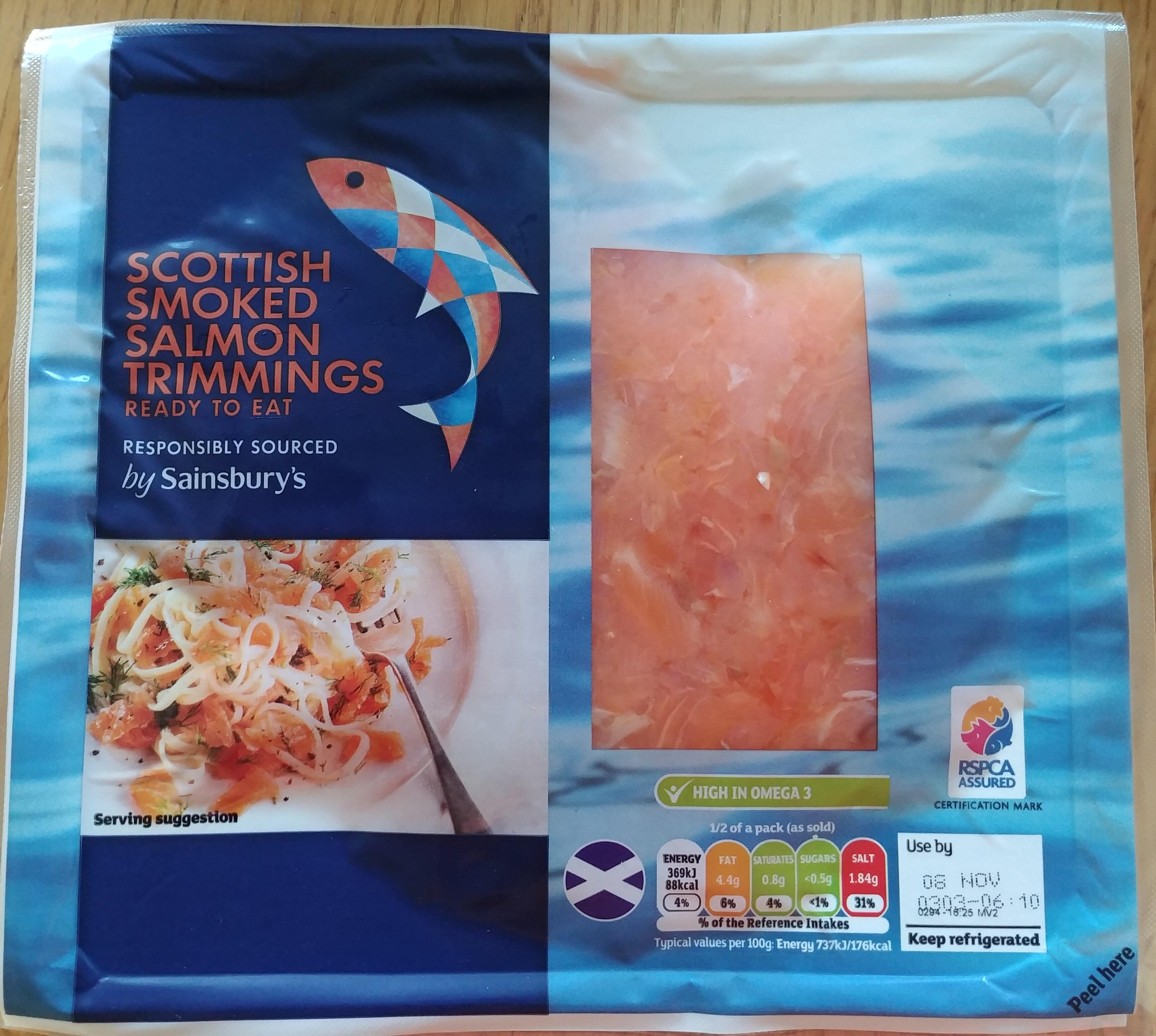 Scottish Smoked Salmon Trimmings - Produit - en