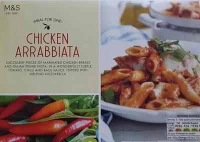 Chicken Arrabbiata - Product - fr
