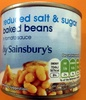 reduced salt sugar baked beans - Product