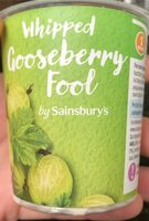 Whipped gooseberry fool - Product - en
