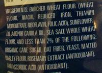 Pita Chips - Ingrediënten