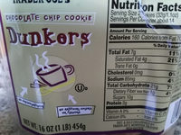 Chocolate Chip Cookie Dunkers - Product - en