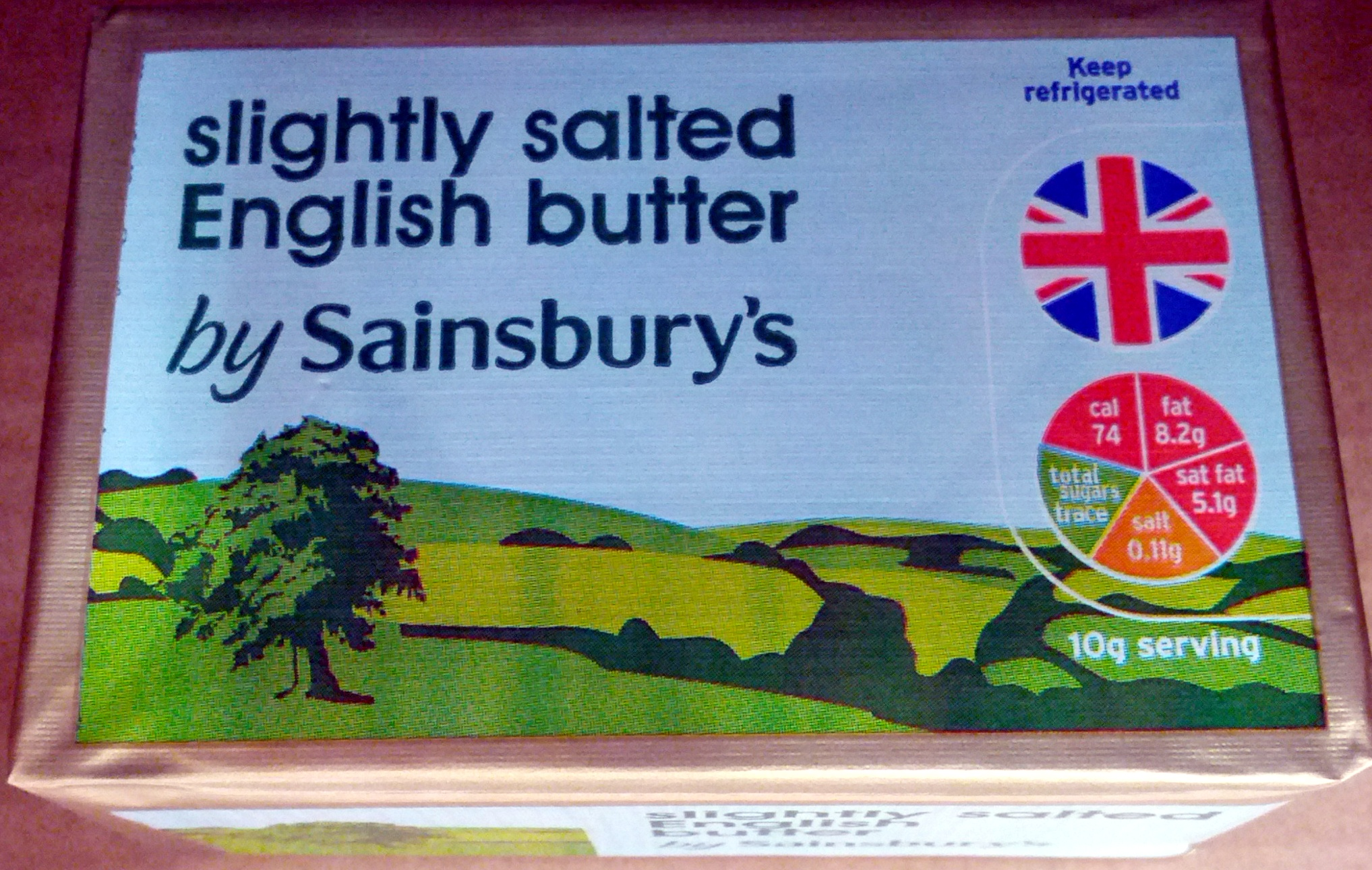 Slightly Salted English Butter - Produit - en