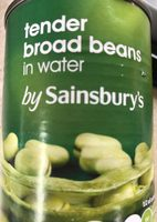 Tender Broad Beans in Water - Product