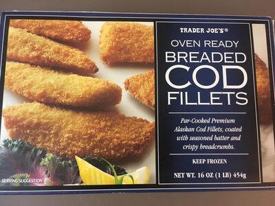 Trader Joe's Oven Ready Breaded Cod Fillets - Product - en