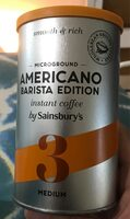 Microground americano barista edition - Produit