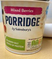 Mixed Berries Porridge - Product - fr