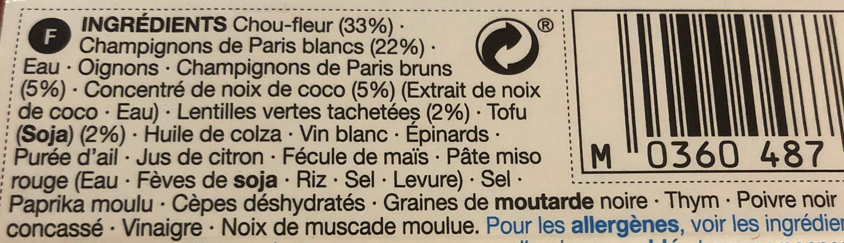 Mixed Berries Porridge - Ingrediënten - fr