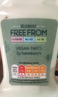Free from vegan mayo - Product - en