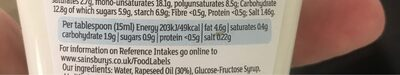 Free from vegan mayo - Nutrition facts - en