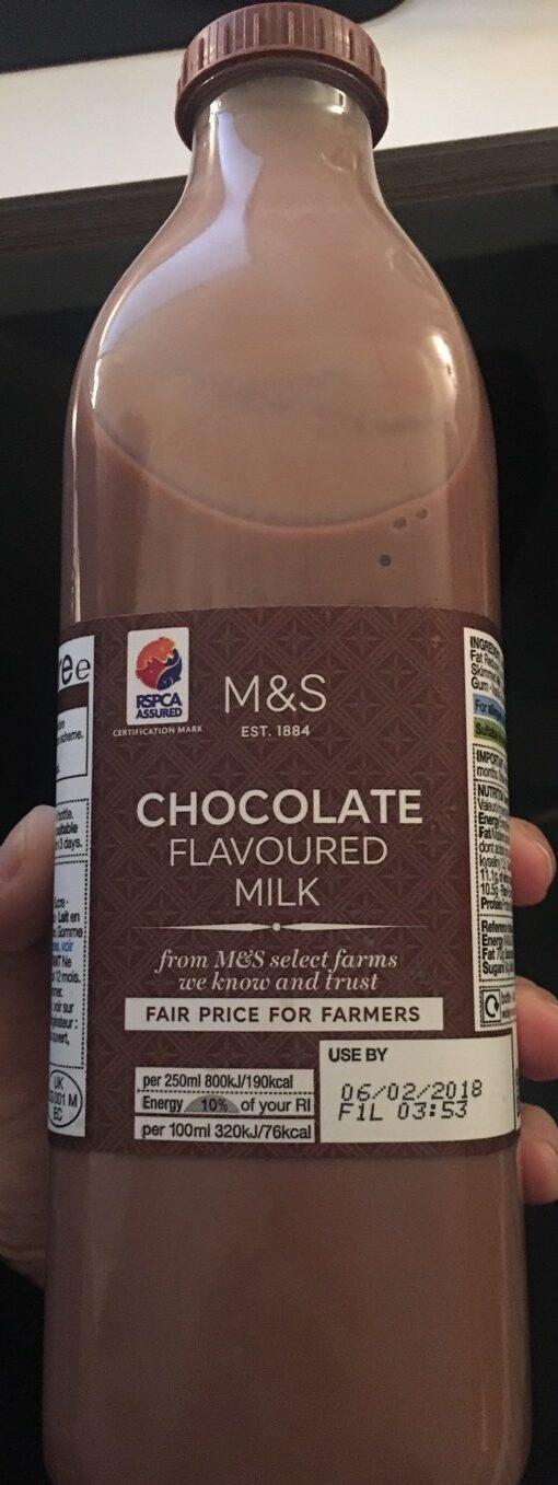Chocolate Flavoured Milk - Product - en