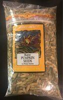 Raw pumpkin seeds - Product - en
