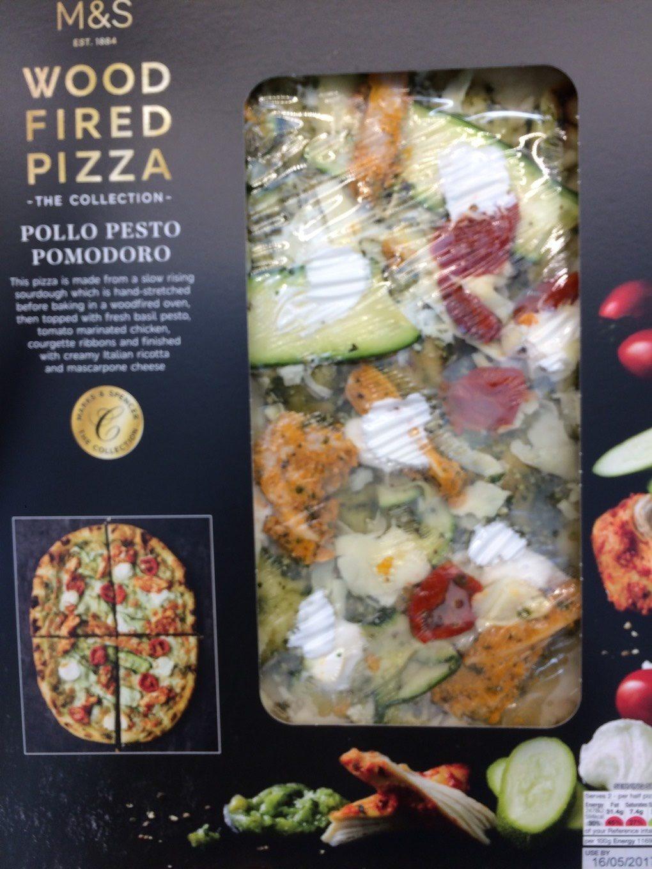 Pizza pollo pesto pomodoro 424 g - Produit - fr