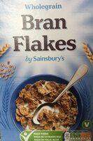 wholegrain bran flakes - Producto - en
