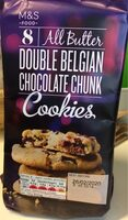 Double Belgian chocolate chunk cookies - Prodotto - fr