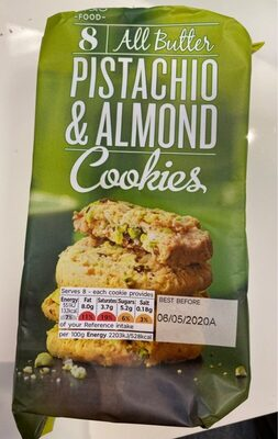 Cookies pistachio & almond - Product