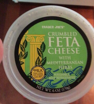 Crumbled feta cheese - Product
