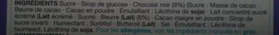 Chocolate brownie fudge - Ingrediënten - en
