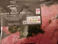 CURED ROAST BEEF - Product