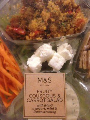 Fruity Couscous & Carrot Salad - Produit