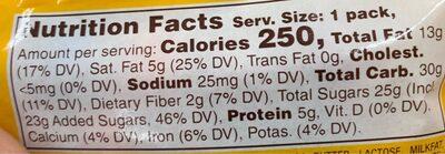M&m's, chocolate candies, peanut, peanut - Nutrition facts