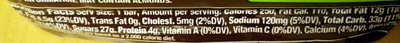 Snickers - Nutrition facts