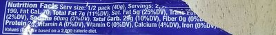 Caramel M&M's - Nutrition facts