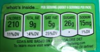 Mint Dark Chocolate - Sharing Size - Nutrition facts - en