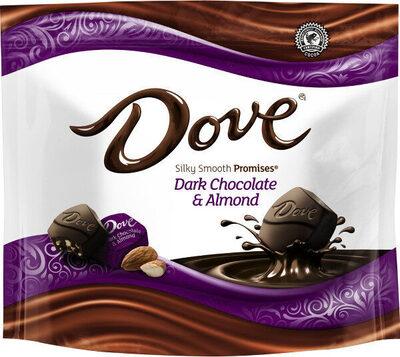 Dark chocolate & almond candy, dark chocolate & almond - Product - en